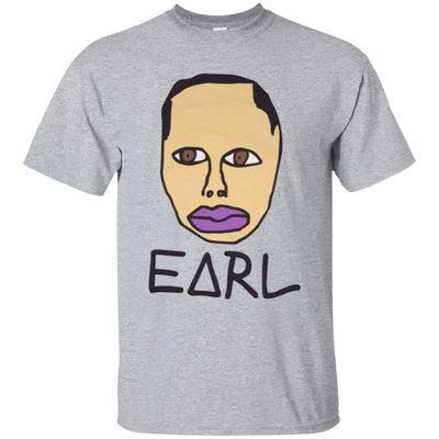 Earl Sweatshirt Merch Shirt - Sport Grey - Shipping Worldwide - NINONINE