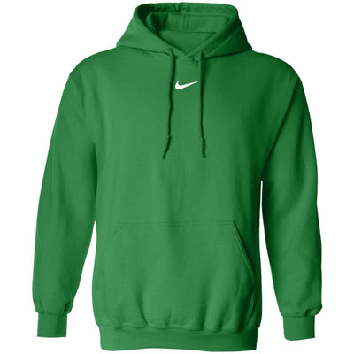 Center Swoosh Nike Hoodie - Irish Green - NINONINE