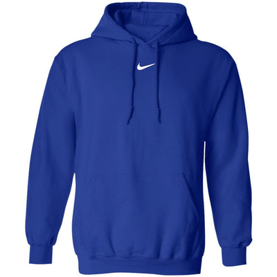 Center Swoosh Nike Hoodie - Royal - NINONINE