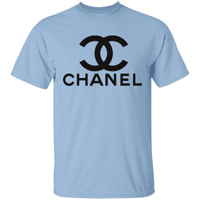 Chanel T Shirt - Light Blue - NINONINE