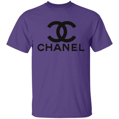 Chanel T Shirt - Purple - NINONINE