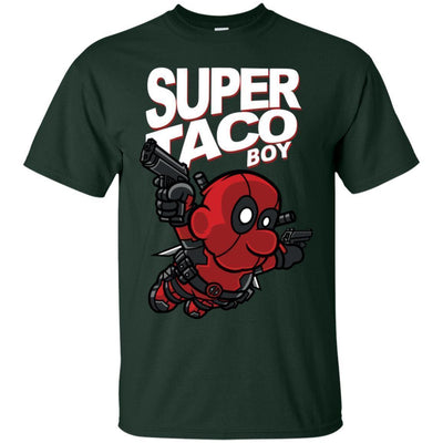 Deadpool Taco Shirt Super Taco Boy - NINONINE