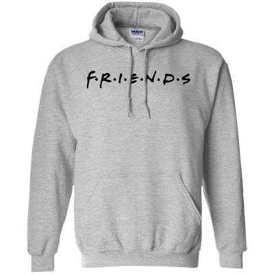 Friends Hoodie Light Style - Sport Grey - Shipping Worldwide - NINONINE