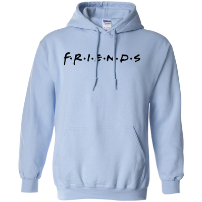 Friends Hoodie Light Style - Light Blue - Shipping Worldwide - NINONINE