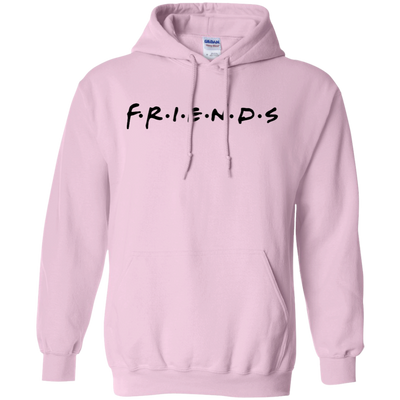Friends Hoodie Light Style - Light Pink - Shipping Worldwide - NINONINE