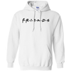 Friends Hoodie Light Style - White - Shipping Worldwide - NINONINE