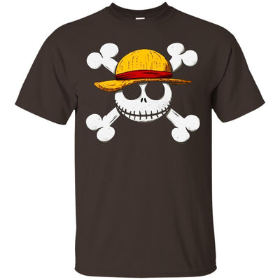 Jack Skellington Monkey D. Luffy Shirt - NINONINE