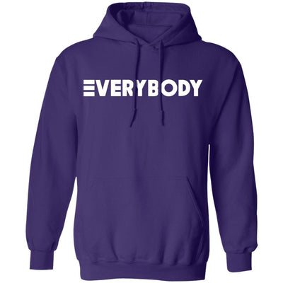 Logic Everybody Hoodie Dark - Purple - NINONINE