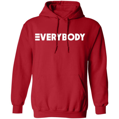 Logic Everybody Hoodie Dark - Red - NINONINE