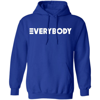 Logic Everybody Hoodie Dark - Royal - NINONINE