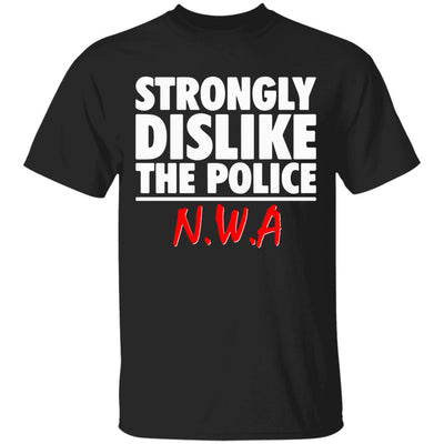 NWA Shirt - Black - NINONINE