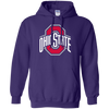 Ohio State Hoodie - Purple - Shipping Worldwide - NINONINE
