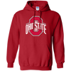 Ohio State Hoodie - Red - Shipping Worldwide - NINONINE