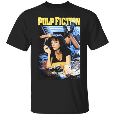 Pulp Fiction Shirt - Black - NINONINE