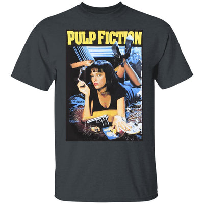 Pulp Fiction Shirt - Dark Heather - NINONINE