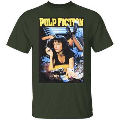 Pulp Fiction Shirt - Forest - NINONINE