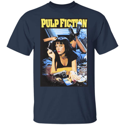 Pulp Fiction Shirt - Navy - NINONINE