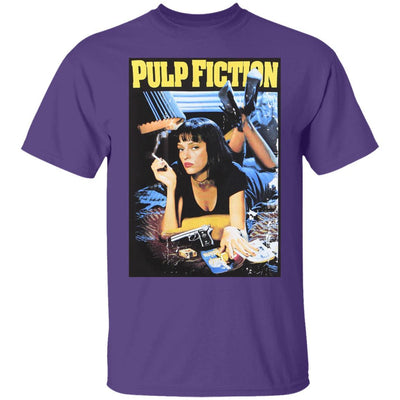Pulp Fiction Shirt - Purple - NINONINE
