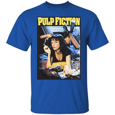 Pulp Fiction Shirt - Royal - NINONINE