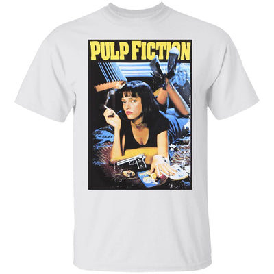 Pulp Fiction Shirt - White - NINONINE