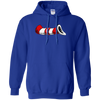 Supreme Cat In The Hat Hoodie - Royal - Shipping Worldwide - NINONINE