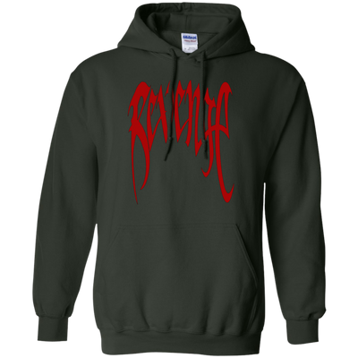 XXXTentacion Hoodie Revenge Merch Red - Shipping Worldwide - NINONINE