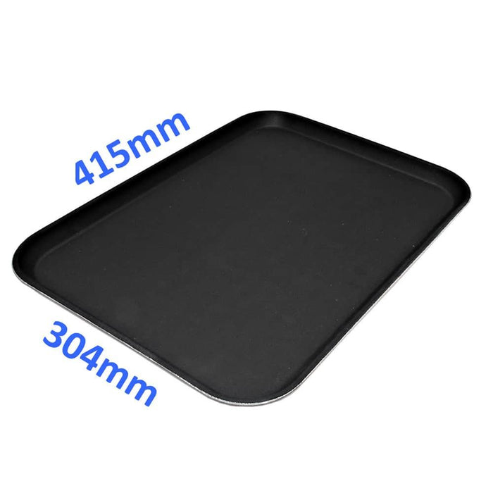 "Rectangular Non-Slip Serving Waiter Tray 16""x12"" Bar Pub Restaurant Café Drinks"