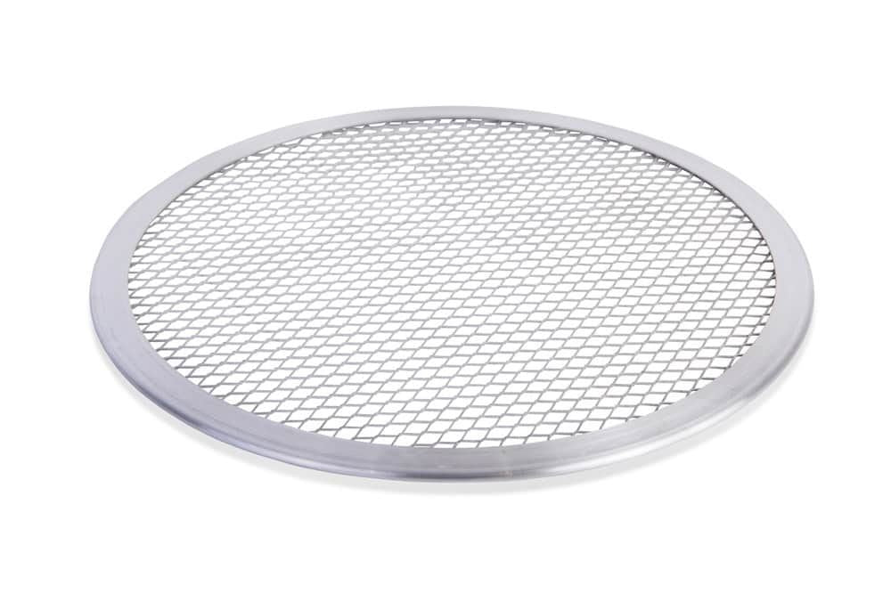 Aluminium Pizza Baking Tray 9-inch Flat Screen Wire Mesh Food Crisper