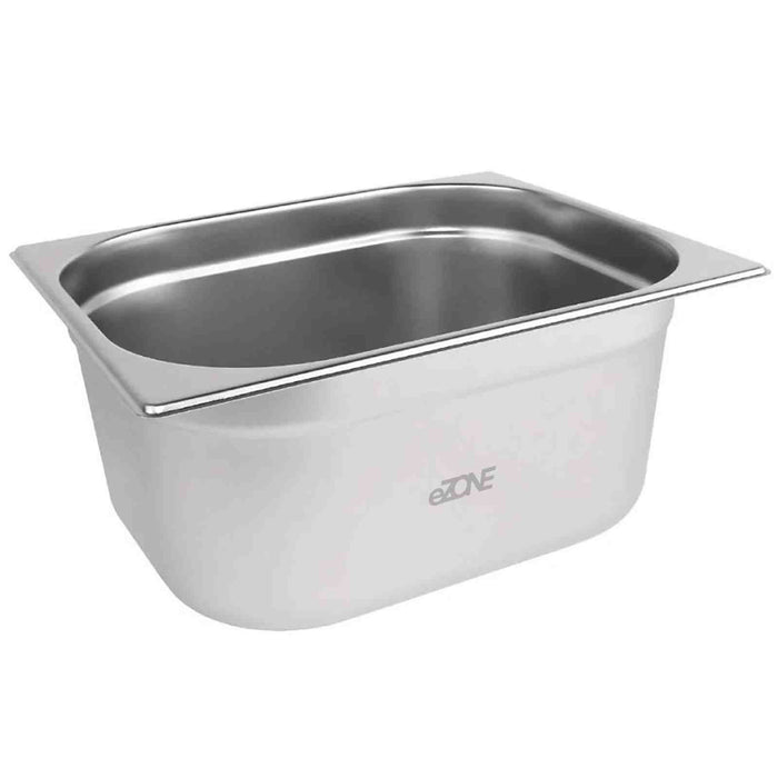 Gastronorm 1/2 Half Stainless Steel Bain Marie Food Container Pot Pan 150mm