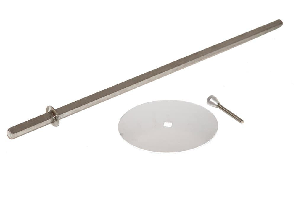 Doner Kebab Shawarma Machine Skewer Spit-Disk 250mm-Pin, Archway Stainless Steel
