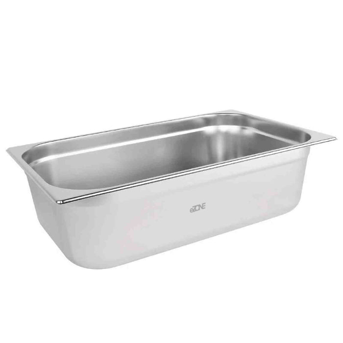 Gastronorm 1/1 Size Stainless Steel Bain Marie Food Container Pot Pan 150mm