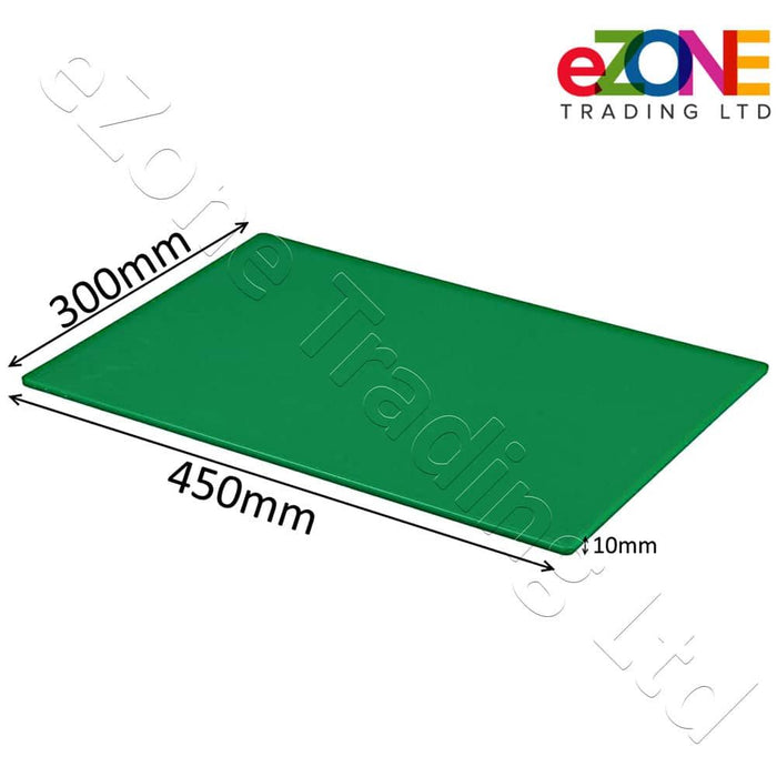 Professional Large Chopping Board Catering Food Prep Cutting Colour Coded GREEN