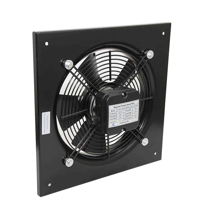 Industrial metal ventilation fan. 250mm Blade size in our Catering equipment collection