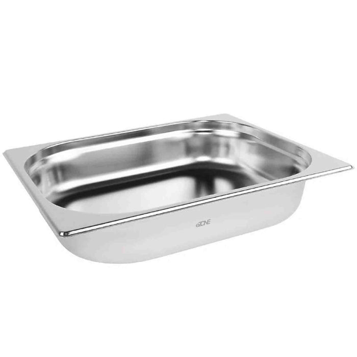 Gastronorm 1/2 Half Stainless Steel Bain Marie Food Container Pot Pan 65mm