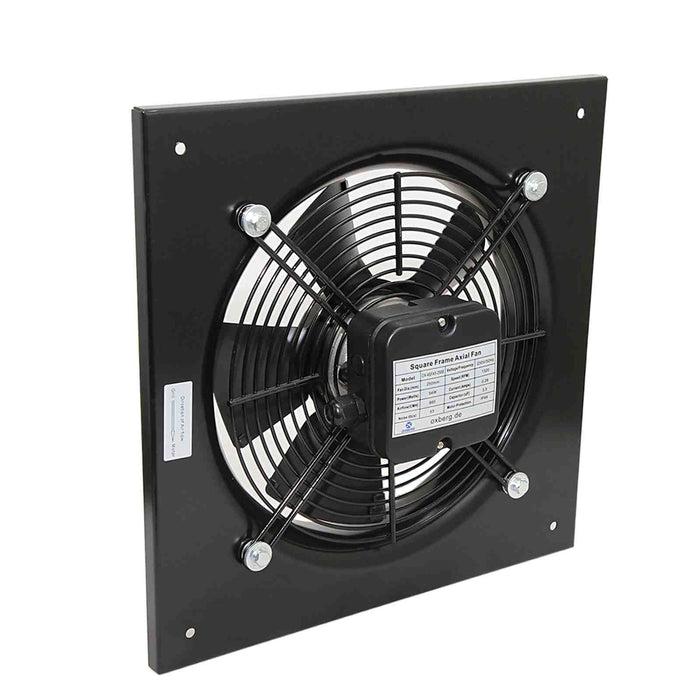 Industrial metal ventilation fan. Quiet model. 200mm Blade size in our Catering equipment collection