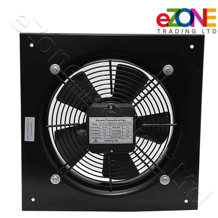 Industrial metal ventilation fan. 400mm Blade size in our Catering supplies collection