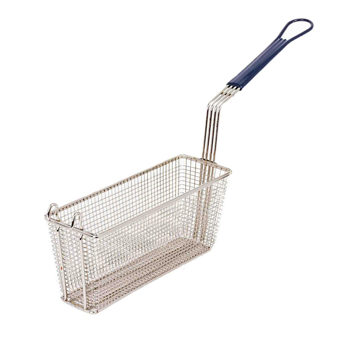 2 Frying Basket for Takeaway Restaurant Chip Fish Fryer Heavy Duty 340x110x150mm