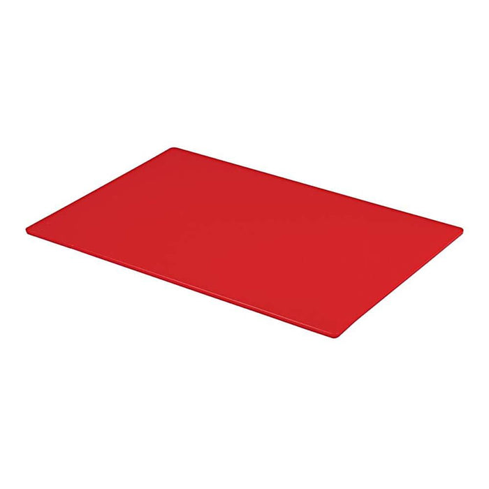 Professional Large Chopping Board Catering Food Prep Cutting Colour Coded RED