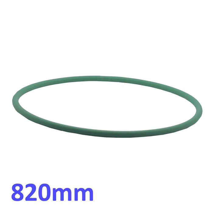 820mm - Green Drive Belt for Dough Roller Stretcher