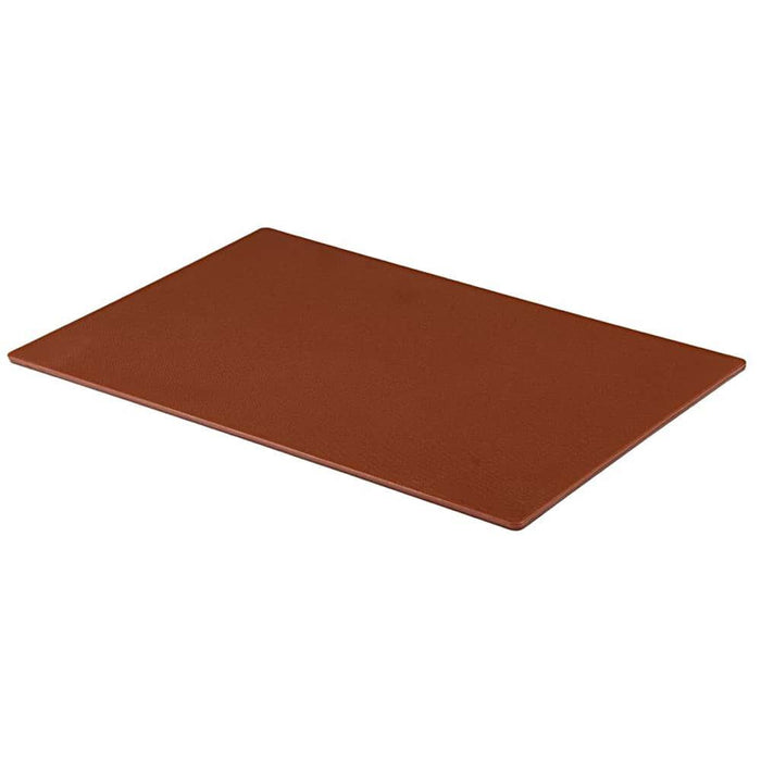 Professional Large Chopping Board Catering Food Prep Cutting Colour Coded BROWN
