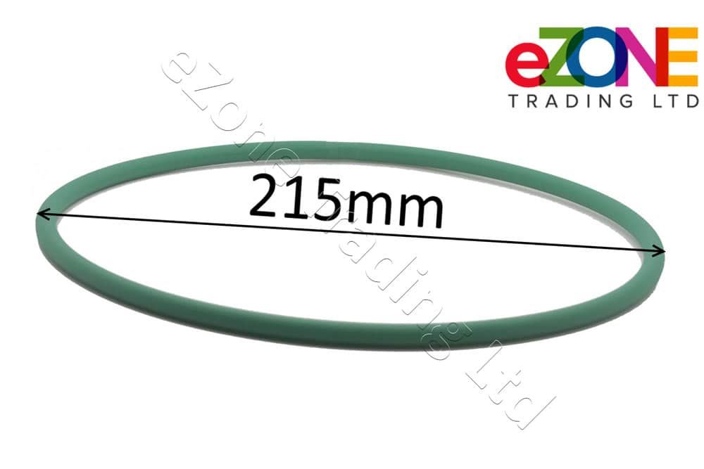 IGF 645mm - Long Green Drive Belt for PIZZA Dough Roller Stretcher B30, L30