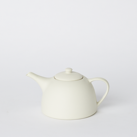 Round Teapot - Two Cup in Milk