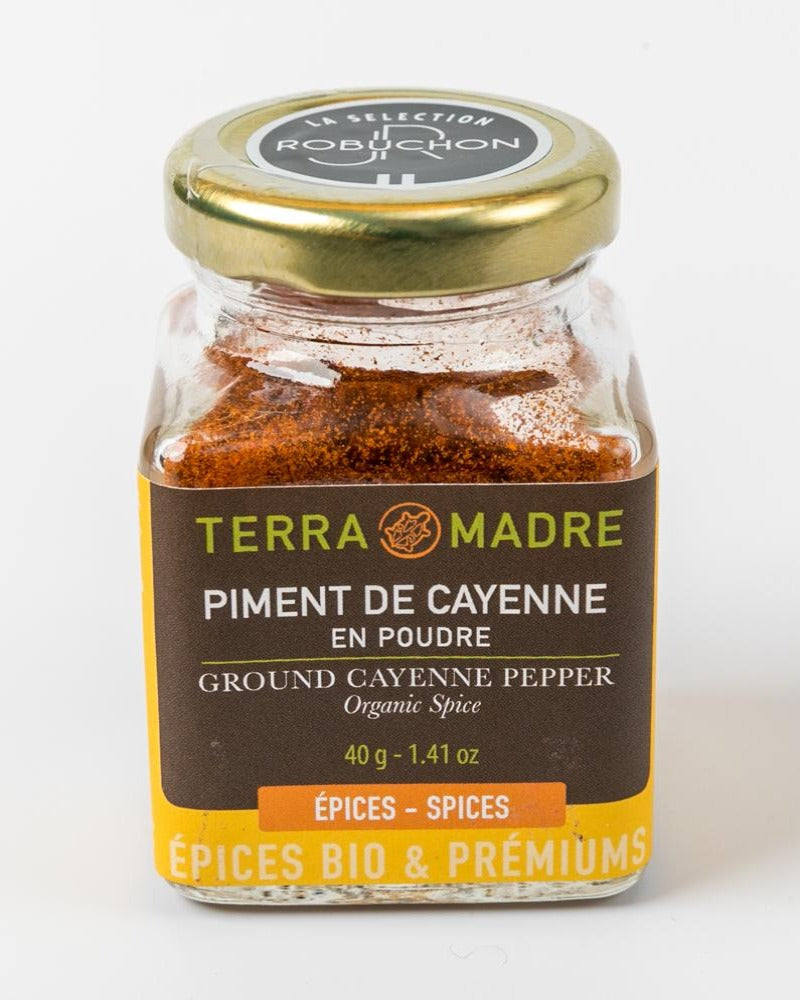 Ground Cayenne Pepper - Terra Madre (France)