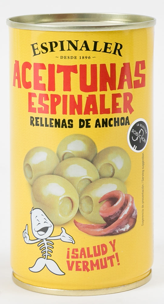 Olives stuffed with Anchovies - Espinaler - Spain