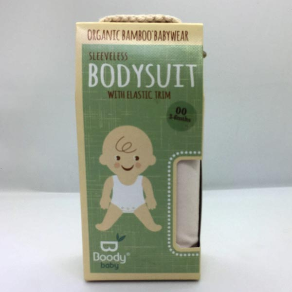 Boody Baby - Sleeveless Bodysuit