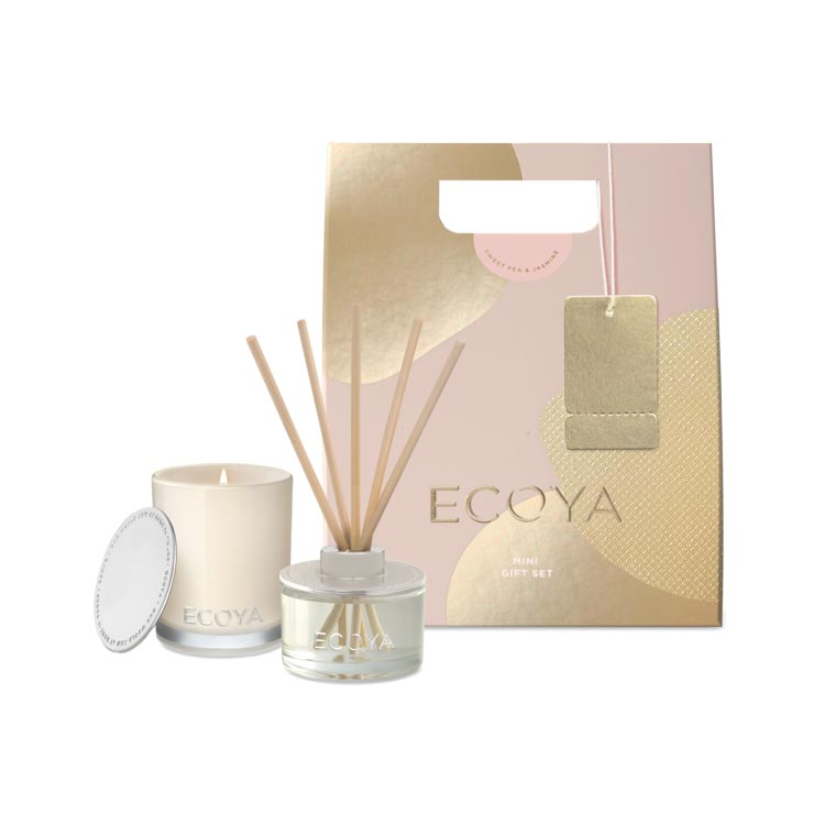 Ecoya - Sweet Pea + Jasmine Mini Gift Set