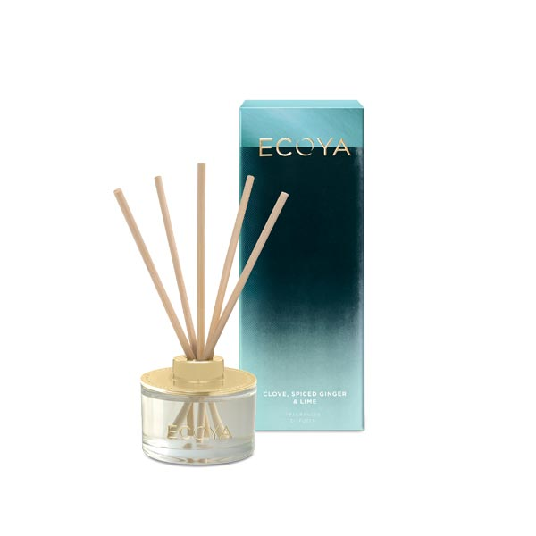 Ecoya - Mini Diffuser - Clove, Spiced Ginger + Lime
