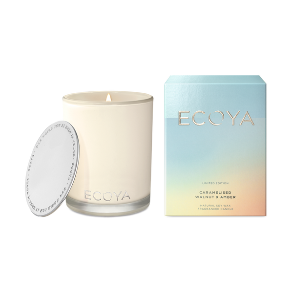 Ecoya Madison Candle - Caramelised Walnut + Amber