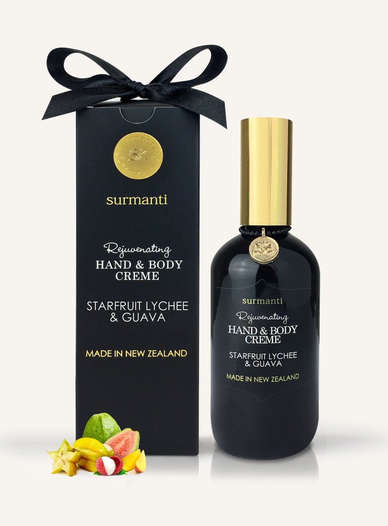 Surmanti - Rejuvenating Hand and Body Creme - Starfruit, Lychee + Guava