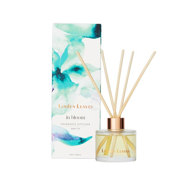 Linden Leaves - In Bloom Diffuser - Aqua Lily